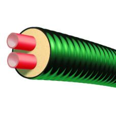 Труба гибкая предизолированная OPTIPEX DUO 2×40/126